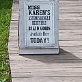 Miss Karen's by Guy Whiteley