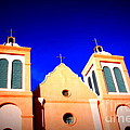 Mission Church Silver City Nm by Susanne Van Hulst