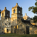 Mission Concepcion In The Evening by Ellie Teramoto