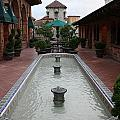 Mission Inn Roof Top Pond by Tommy Anderson