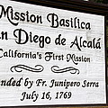Mission San Diego by Jeff Lowe