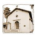 Mission San Rafael Arcangel - II by Ken Evans