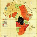 Missionary Map Of Africa by Roberto Prusso