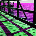 Mississippi  Pier - Ver. 8 by William Meemken