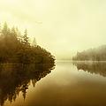 Mist Across The Water Loch Ard by John Farnan