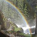 Mist Trail Rainbow by Cyndi Combs