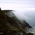 Mists Along The Kalalau Valley by Paulette B Wright