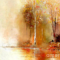 Misty Autumn Morn by Susan Holsan