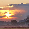 Misty Country Sunrise  by James BO Insogna