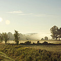 Misty Lines by Elaine Mikkelstrup