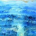 Misty Morning  Ireland  by Trudi Doyle