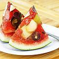 Mixed Fruit Watermelon by Anek Suwannaphoom