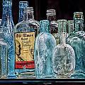 Mob Museum Whiskey Bottles by Sandra Welpman