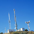 Mobile Phone Masts by Carlos Dominguez