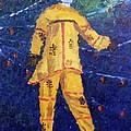 Mocko Jumbie In Yellow by Diane Elgin