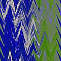 Moda Chevron Pattern IIi by Ricki Mountain