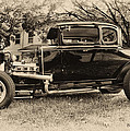 Model A Ford by Bill Cannon
