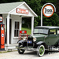 Model A Ford by Ted Kinsman