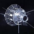 Model Of The Luna 3 Spacecraft by Ria Novosti
