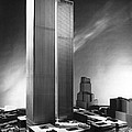 Model Of World Trade Center by Underwood Archives