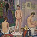 Models by Georges Seurat