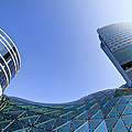 Modern Architecture In Downtown by Artur Bogacki