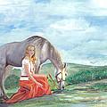 Modern Ayla by Barbi  Holzmann