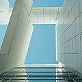 Modern Building Viewed From Below by Axiom Photographic
