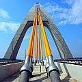 Modern Cable-stayed Bridge by Yali Shi