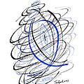 Modern Drawing 111 by Lynne Taetzsch