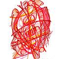 Modern Drawing 113 by Lynne Taetzsch