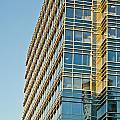 Modern Office Building Windows by Susan Leggett