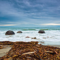 Moeraki Boulder East Coast Of South New Zealand by U Schade