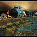 Moffett Field Landing by Blake Richards