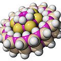 Molecular Bearing, Computer Model by Laguna Design