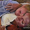 Mom And Son by Catalina Rankin