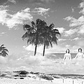 Mom's Tropical Dreams Bw by Kathleen Grace