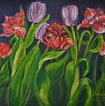 Mom's Tulips by Deborah Anne