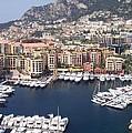 Monaco Harbour by Marlene Challis