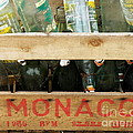 Monaco Wooden Crate by Lainie Wrightson