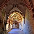 Monastery Passageway by Dave Mills
