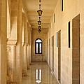 Monastery Passageway by Michele Burgess