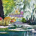 Monet's Jardin De L'eau by Donna Walsh