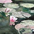 Monet's Lily Pads by Donna Walsh