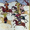 Mongol Battle, C1400 by Granger