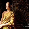 Monk Alex Laos by Bob Christopher
