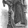 Monk Preaching by Granger