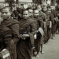 Monks In The Monastery by RicardMN Photography