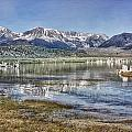 Mono Lake Sierra by Linda Dunn