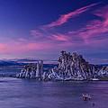 Mono Lake's Fiery Sky by Wes and Dotty Weber